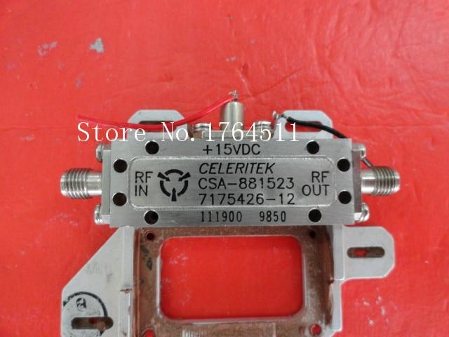 [BELLA] CELERITEK CSA-881523 15V SMA Supply Amplifier