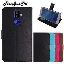TienJueShi kitap tasarımı korumak deri kılıf kabuk cüzdan Etui kılıf Nuu g3 5.7 inç