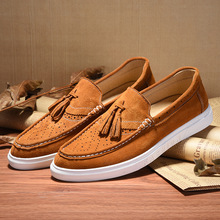 2016 Real Hot Sale Pu Basic Unisex Solid Creepers Autumn Leisure Carved Bullock Low Men s