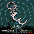 1/6 Scale Action Figure Handcuffs Suitable for 12'' Model Toy Custom