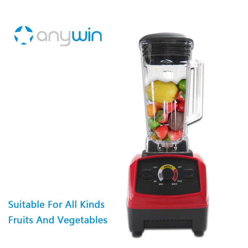 Anyway Blender for Smoothies 220V BPA Free Electric Chopper Cooking Mixer 2L Kitchen Electric Food Mixer Juicer bpa 3 speed heavy duty commercial grade juicer fruit blender mixer 2200w 2l professional smoothies food mixer fruit processor