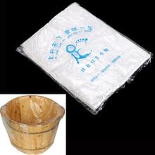 90PCS Environmentally Disposable Foot Tub Liners Bath Basin Bags for Feet Pedicure Spa Skin Care 55*65cm