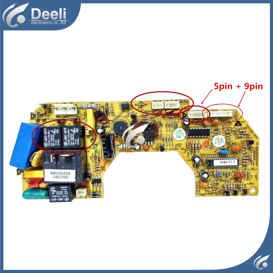 Original for air conditioning Computer board used board original ld50h9000 v500dk1 cs1 v500dk1 ls1 board used board