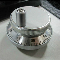 Hand Wheel Pulse Encoder 100PPR CNC Mill Router Manual Control For CNC System