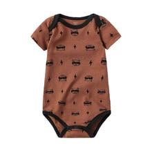 Baby Bodysuit Newborn Babies Clothes Short Sleeve 3 6 9 12 18 24 Months Baby Clo