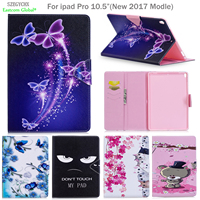 Cover For IPad Pro 10 5 Inch SZEGYCHX PU Leather Smart Stand Shell Tablet Case For