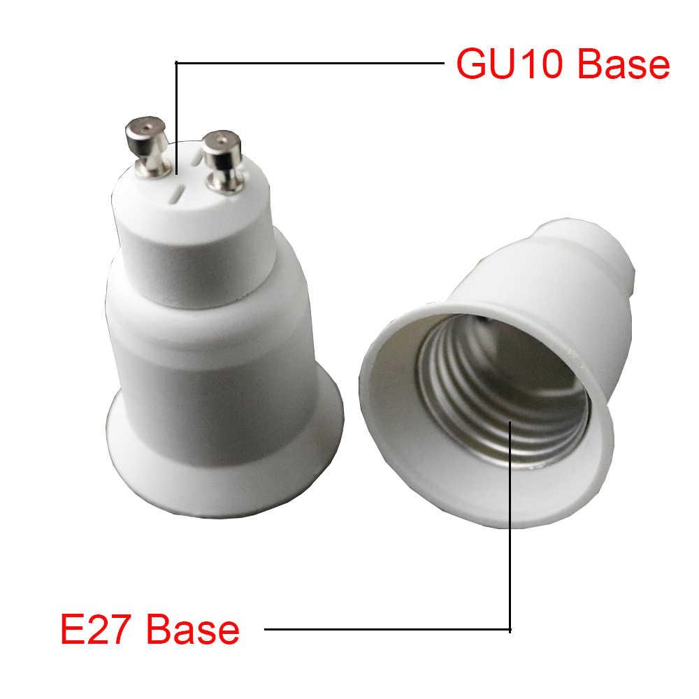 GU10 к E27 светодиодные лампы базы винт свет лампы держатель адаптер оправа конвертер Высокое качество держатель лампы конвертер Плагин Extender