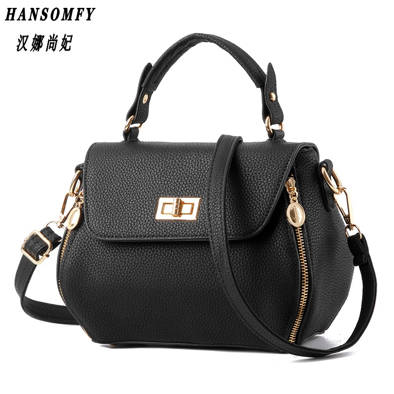 100% Genuine leather Women handbags 2018 New bag female Korean stereotypes fashion handbags Shoulder Messenger Handbag недорго, оригинальная цена