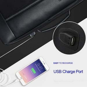 Image 3 - Bopai多機能usb充電男性15.6インチのラップトップリュック防止盗難拡大男性旅行のバックパックティーンエイジャードロップ無料