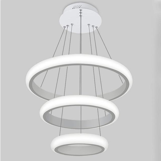 Schön Neue Moderne Pendelleuchten Für Wohnzimmer Esszimmer 3/2/1 Kreis Ringe  Acryl Led