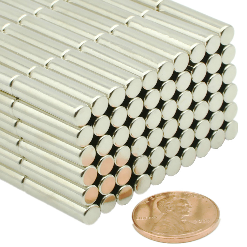 N35 Cylinder Diameter 5x20 mm NdFeB Magnet Rod Strong Neodymium Magnets Rare Earth Magnets Permanent Sensor Magnet 60-500pcs new 50pcs strong ndfeb magnet neodymium magnets disc cylinder rare earth fridge 3x10mm n35 favorable price
