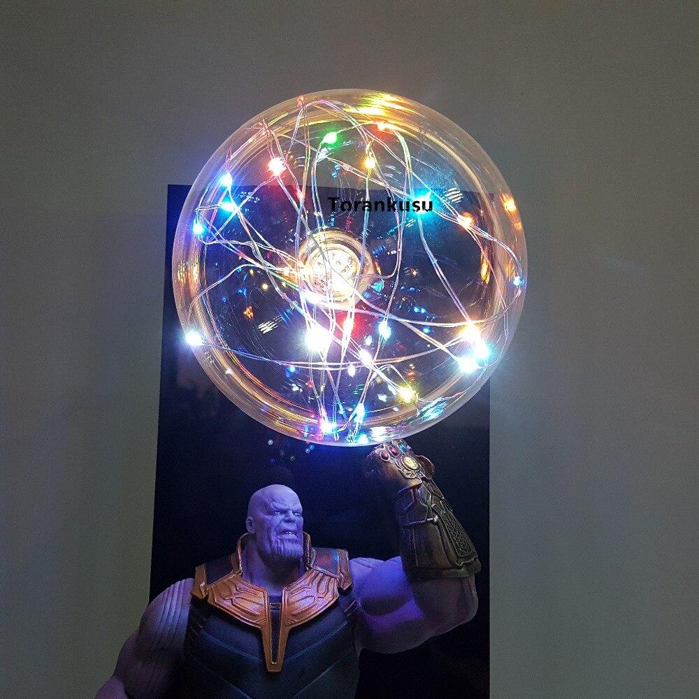 Vingadores 4 endgame thanos infinity gauntlet led