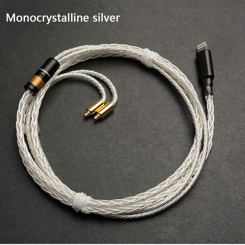 Mis à jour MMCX Remplaçable Câble pour Apple Téléphone Ci-dessous 10.2 Version pour Shure SE215 SE535 SE846 UE900 Écouteurs Audio Câbles Fil - 3