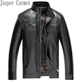 2017 New Arrival Leather Jackets Men's jacket male Outwear Men's Coats Spring & Autumn Jacket Asian Size 43hfx