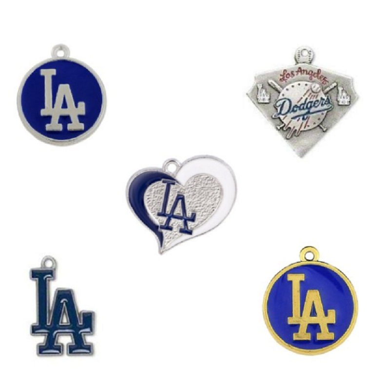 ᐊVenta caliente esmalte equipo de béisbol Los Angeles Dodgers ...