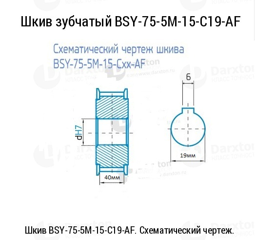 ФОТО Custom very kinds timing pulley HTD 5M 75 teeth 19mm diameter 40mm width groove 6mm