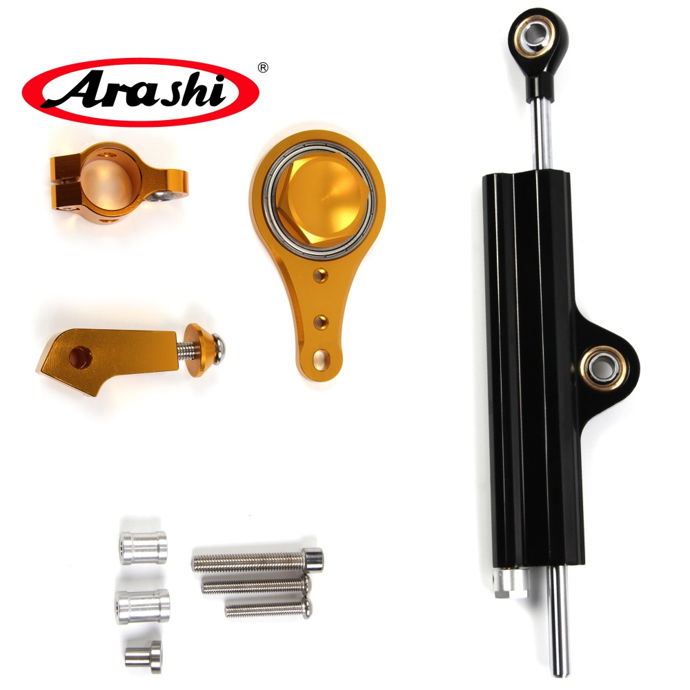For KAWASAKI ZX6R ZX 6R ZX 6R 2005 2006 Arashi Motorcycle Replacement Steering Damper Stabilizer Safety