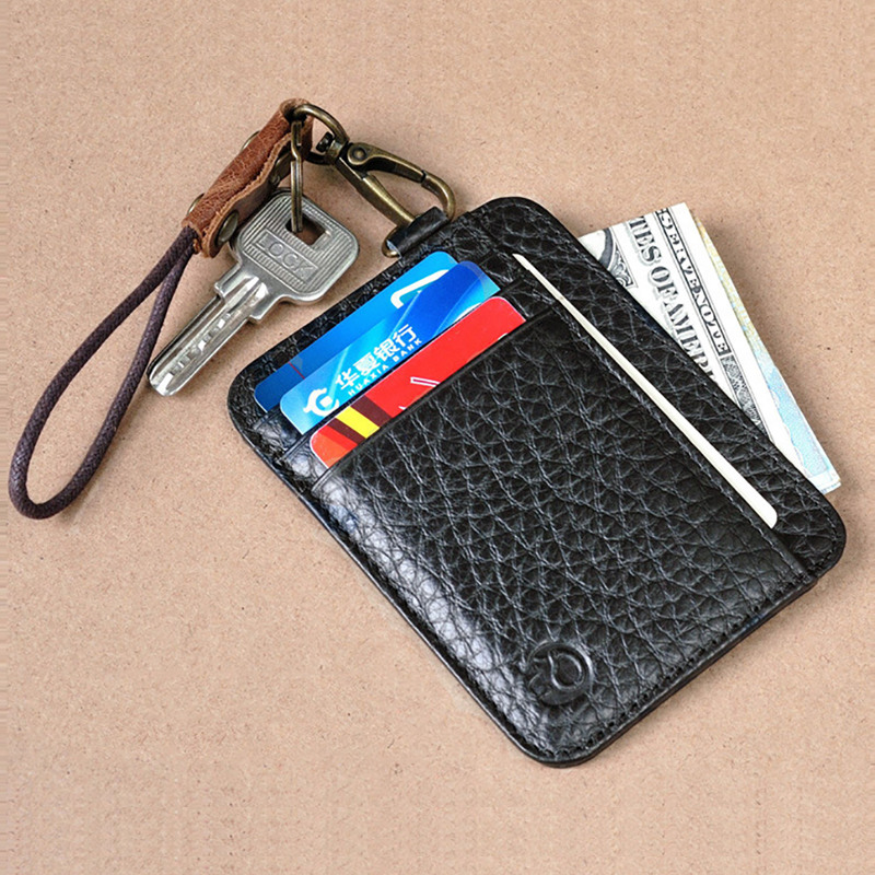 Slim Wallet Credit Card Holder Front Pocket Wallet Men's Wallets