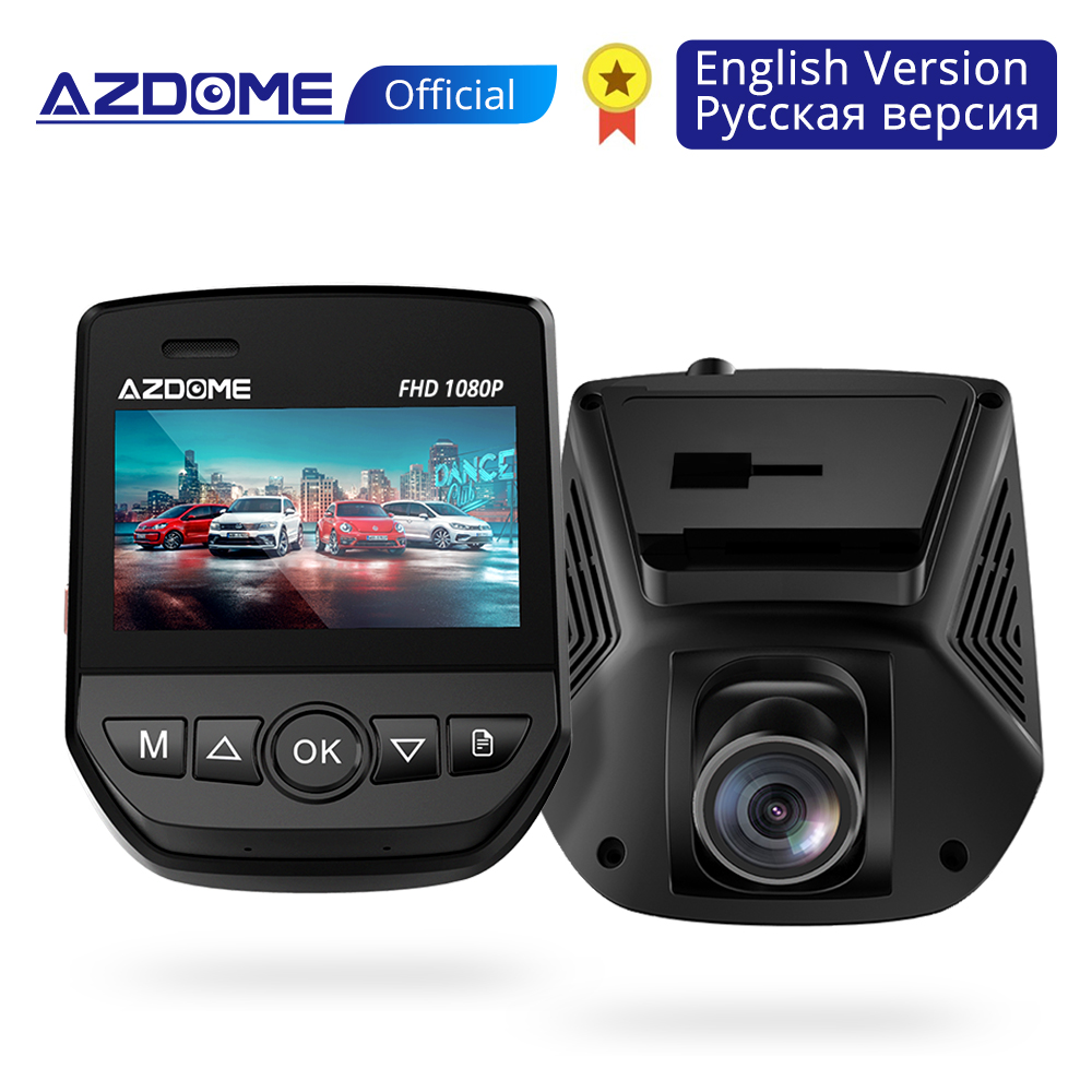 AZDOME A305 Car DVR WiFi Dashboard Full HD1080P Car Camera 2 45 G Sensor Video Recorder