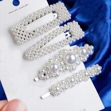 Metal Pearl Hairpins
