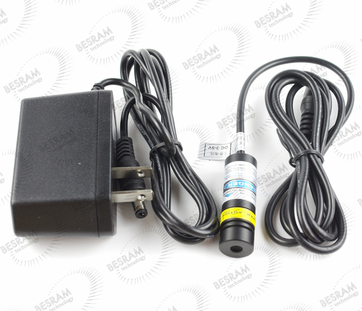Focusable 830nm 300mW IR Infrared Laser Diode Module Lazer Dot with w/ Adapter  to 18 5 6mm 300mw 808nm 810nm infrared ir laser lazer diode ld no pd