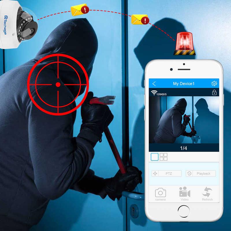 H.265 4MP 5MP 48V POE IP מצלמה 2.8mm כיפה מקורה חיצוני VandalProof אודיו שיא P2P ONVIF אבטחת CCTV וידאו מעקב