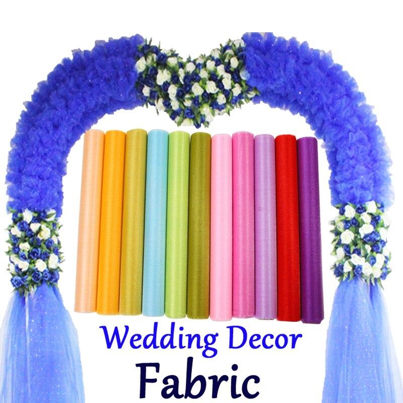 buy haochu 2017 new wedding decoration organza snow crystal shining organza. Black Bedroom Furniture Sets. Home Design Ideas