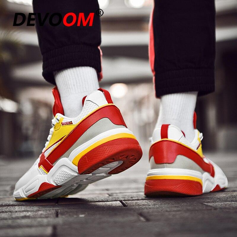 Respirant Noir jaune Mannen Sneakers Hommes Chaussures Cuir Plat En Schoenen Automne Noir Hiver Occasionnels Maille Mode Grande De Taille 2018 bleu RU7fq