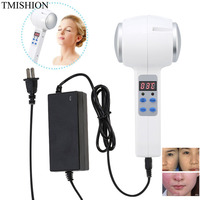Hot Cold Hammer Ultrasonic Cryotherapy Massager Skin Rejuvenation Shrink Pore Face Lifting Anti ageing Face Body Beauty Machine