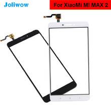 Touch Screen For Xiaomi Mi Max 2  6.44'' Touch Panel Front Glass Digitizer Sensor Replacement Parts original new 7 touch screen for supra m74ig touch screen digitizer glass touch panel sensor replacement free shipping