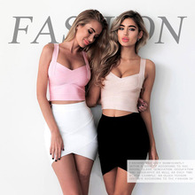 Free shipping.New quality Brand Original fashion party women's Tanks & Camis,women sexy bandage all match vest