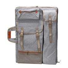 1 шт. искусство портфеля рюкзак сумка доска для рисования сумка мешок с лямками на молнии сбоку сумки чехол на рюкзак сумка для оружия