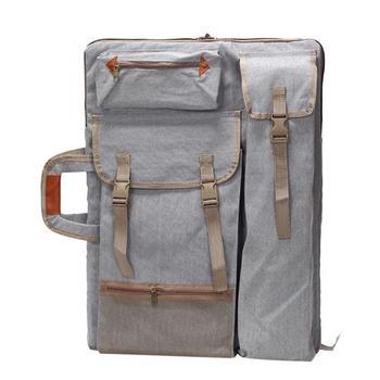 1pc Art Portfolio Backpack Portable Side Bag For Men Drawing Board Tote Bag Shoulder Bag With Straps Side Bags Mochila De Lado