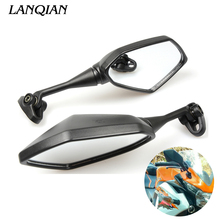 Universal rearviews Sportbike Side Mirror Motorcycle Mirror For SUZUKI SV 650 sv650 sv650s aprilia pegaso TL1000S Accessories motorcycle full fairing kit windshield body work bolts nuts screws for suzuki sv 650 sv650 sv650s aprilia pegaso tl1000s