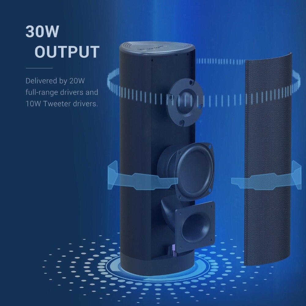30 W TWS colonne sans fil Bluetooth haut-parleur Portable home cinéma TV barre de son Subwoofer barre de son TV haut-parleur avec des basses profondes pour PC - 4