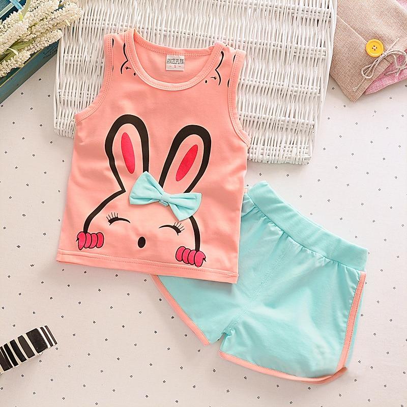 2pcs / lot vaikai mados kūdikių mergaičių drabužių rinkinys - Kūdikių drabužiai - Nuotrauka 6