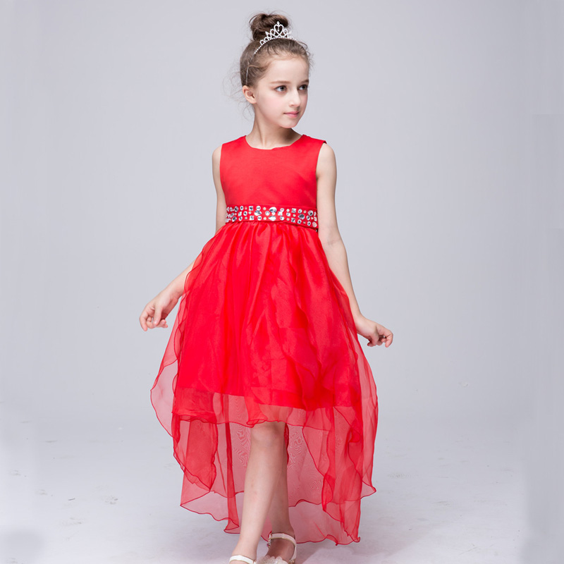 Girls Dress High Quality Flower Girl Dresses For Party And Wedding Christmas Costume Princess Girls Vestido Infantil 2 6 8 Years high grade princess wedding dress europe and america flower girl dress for girls white for 0 12 yesrs