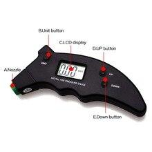 Electonic Digital Manometer Digital Car Tire Pressure Gauge High Precision LCD Backlight 3-150PSI Unit UP Down Button Tire Meter