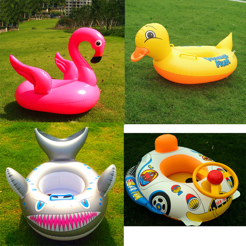 23 Style 0-24 months Newborn Pool Floats Baby Neck Ring Safe Swim Ring Infants Young Children Inflatable Toys Toddler Floating
