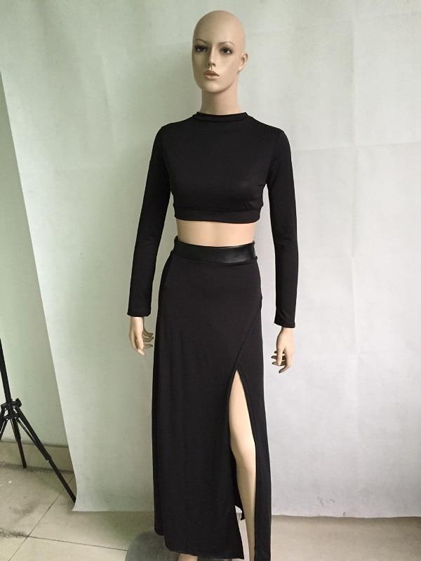 Aliexpress.com : Buy Sexy Women Maxi Skirts Sets female Fashion ...