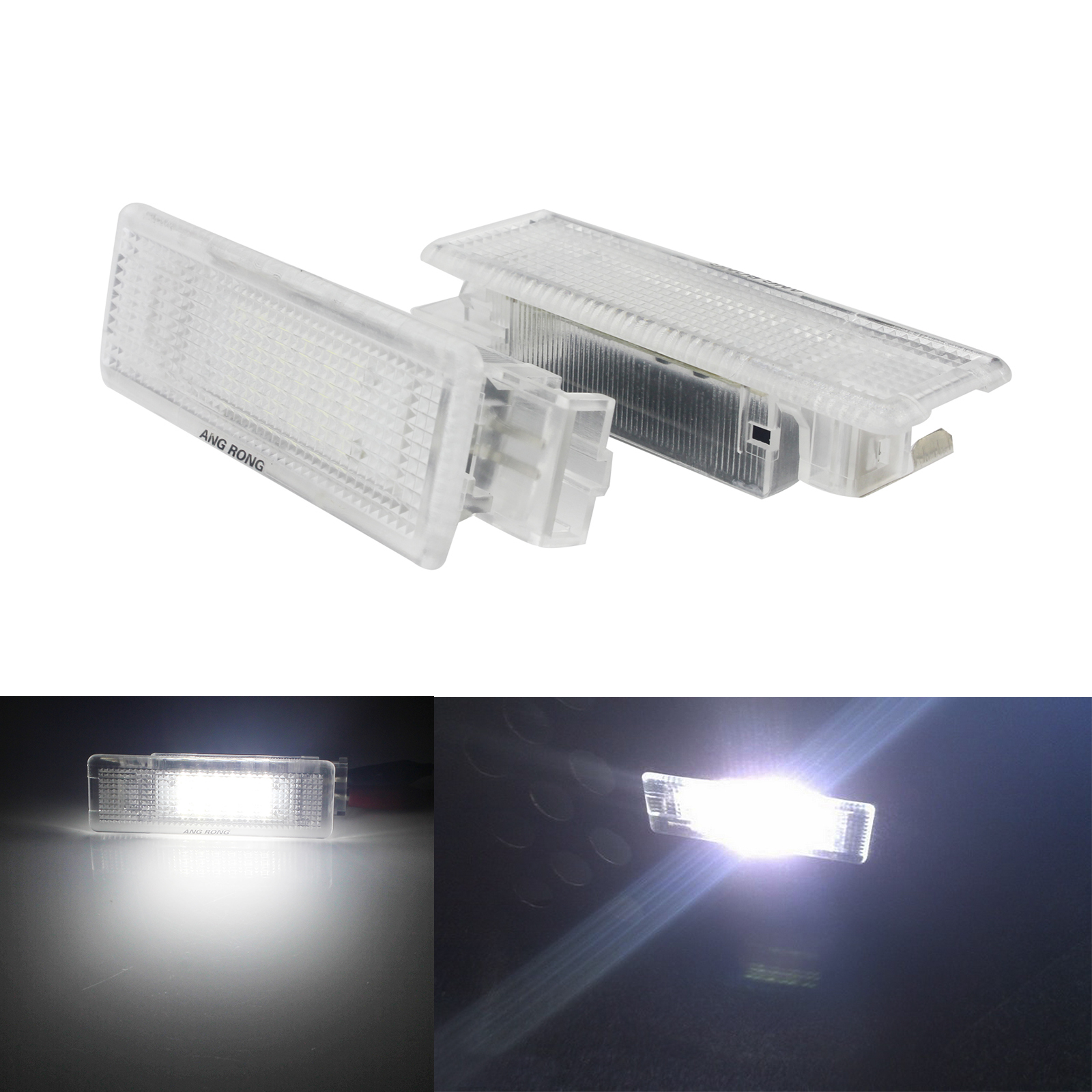 VW SCIROCCO Xenon BRIGHT WHITE LED Side Light Bulbs CANBUS ERROR FREE 12SMD