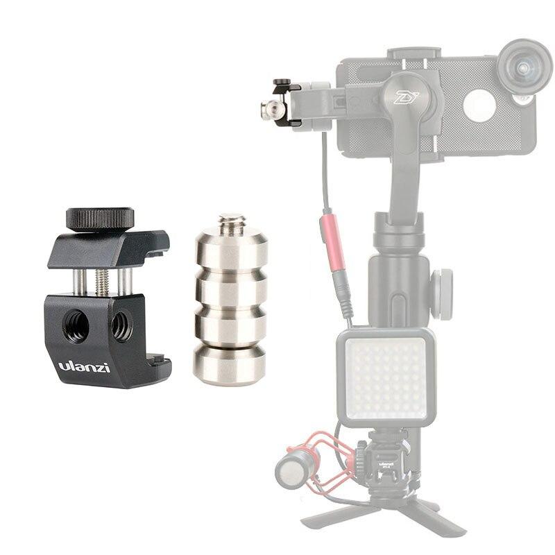 Ulanzi PT-4 contrapeso por el momento lente Universal contra peso cardán accesorios para zhiyun liso 4 DJI Osmo mobile 2