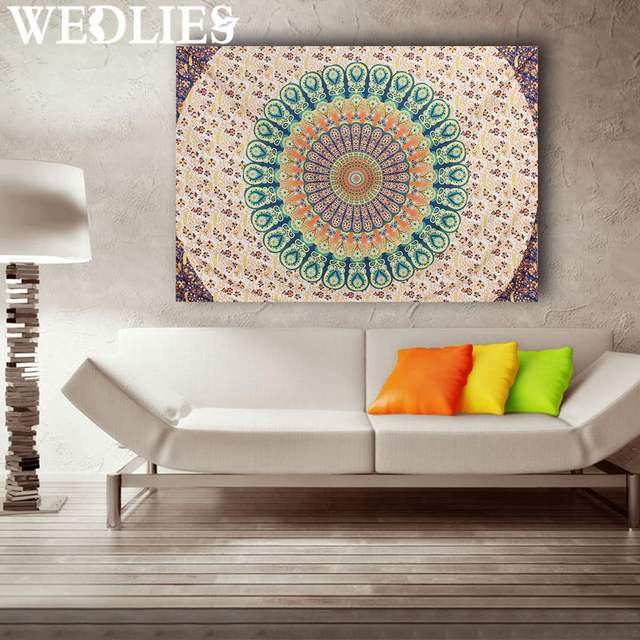 Mandala Wall Decor aliexpress : buy indian mandala wall hanging tapestry