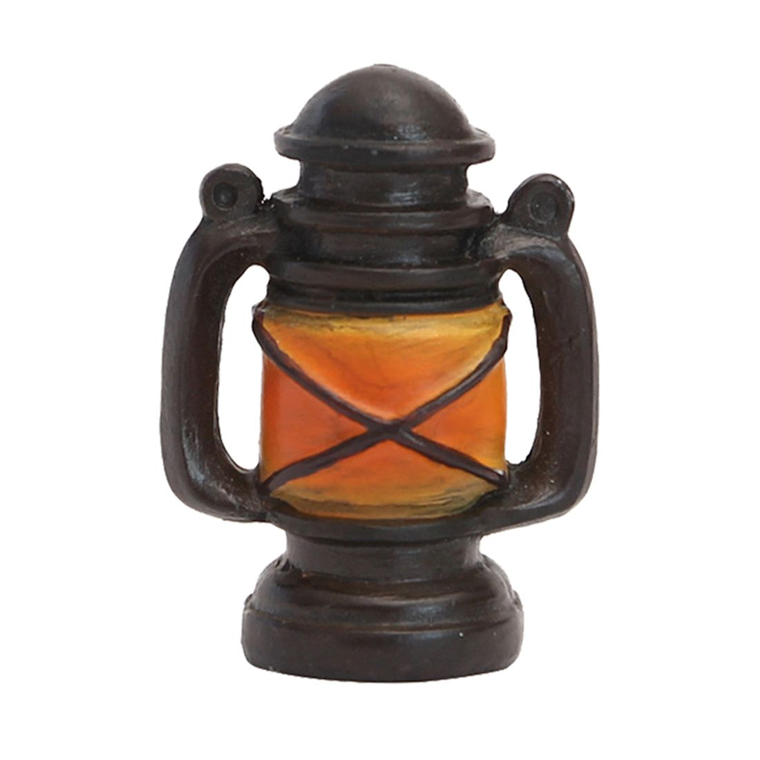 Vintage old creative resin mini kerosene lamp small ornaments desk jewelry Home decorations childrens gifts shop shooting pro