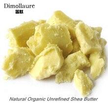 Dimollaure 50g-200g Finomítatlan Természetes Szerves Shea Vaj olaj Bőr testápolás masszázs hajápolás illóolaj-hordozó olaj