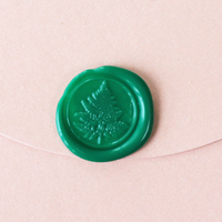 Tree Leaves Sealing Wax Classic Wax Seal Stamp Retro Wood Free Shipping