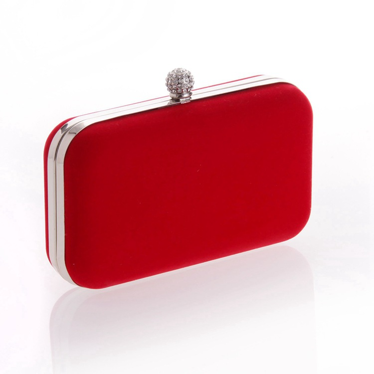 Black And Red Clutch Bag