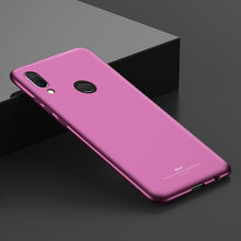 Huawei P20 Lite Case MSVII Luxury 360 Full Body Case For Huawei P20 Lite Back Cover Thin Hard PC Scrub Case Huawei P20Lite Coque(China)