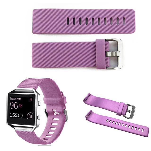 Bracelet Soft Silicone Sport Replacement Watch Band Wristband Strap For Fitbit Blaze Smart Watch TT@88