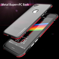 For Apple Iphone 7 Case Ultra Thin Slim Metal Bumper Clear Translucent Back Cover 360 Full